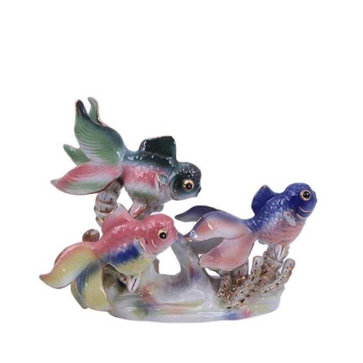 Ceramic Showpiece - Blue