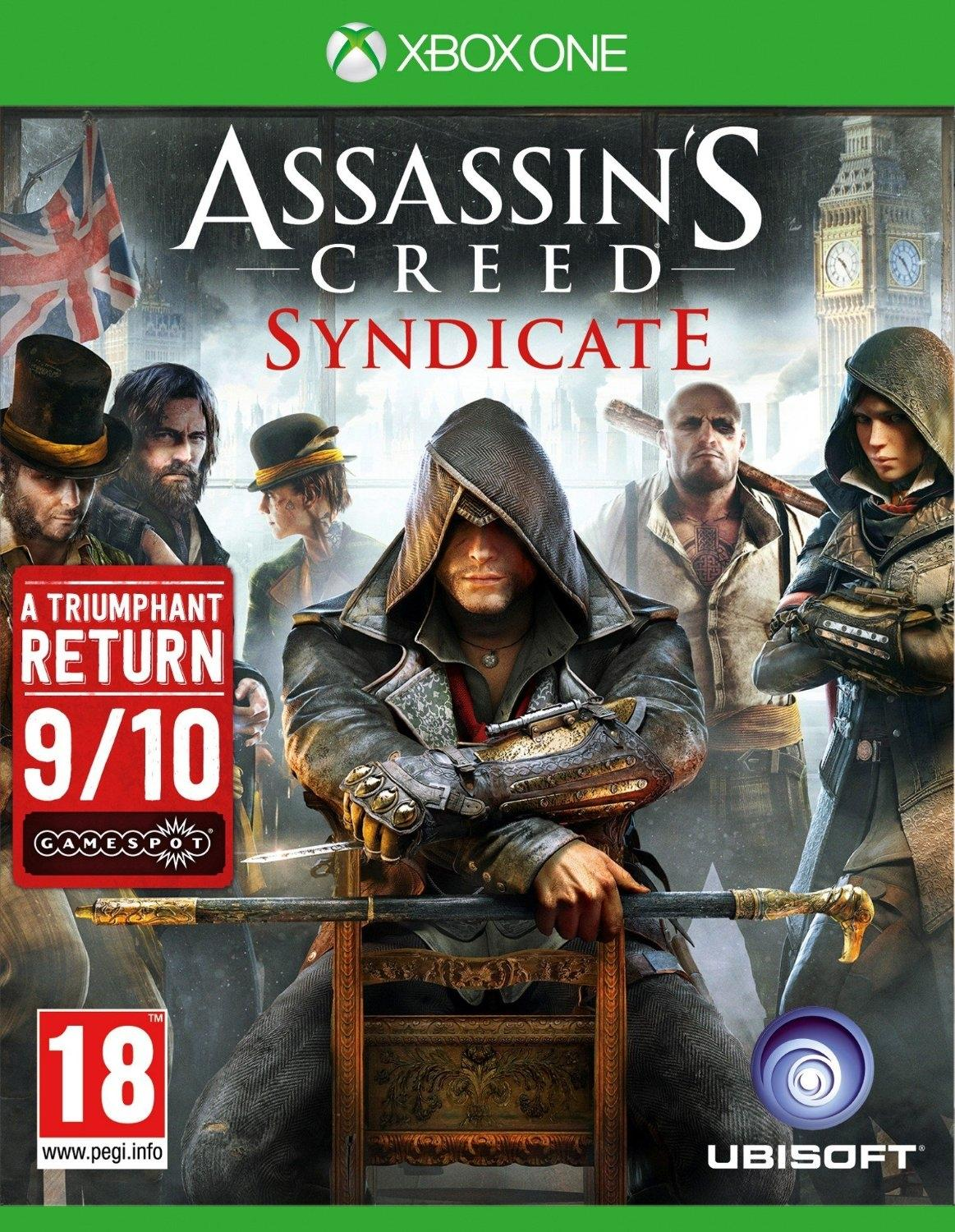 Assassin's Creed Syndicate Gaming CD For Xbox One