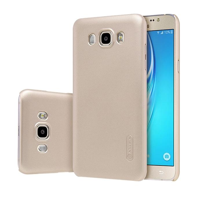 Gold Super Frosted Shield Back Cover for Samsung J7108