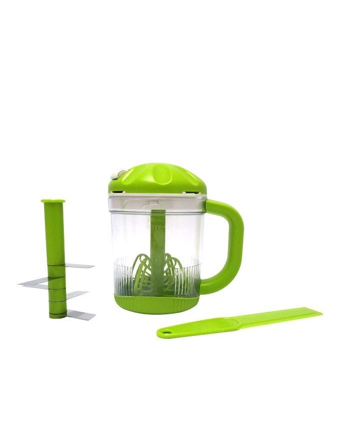 Multiprocessor 5 blades and Whip – Green