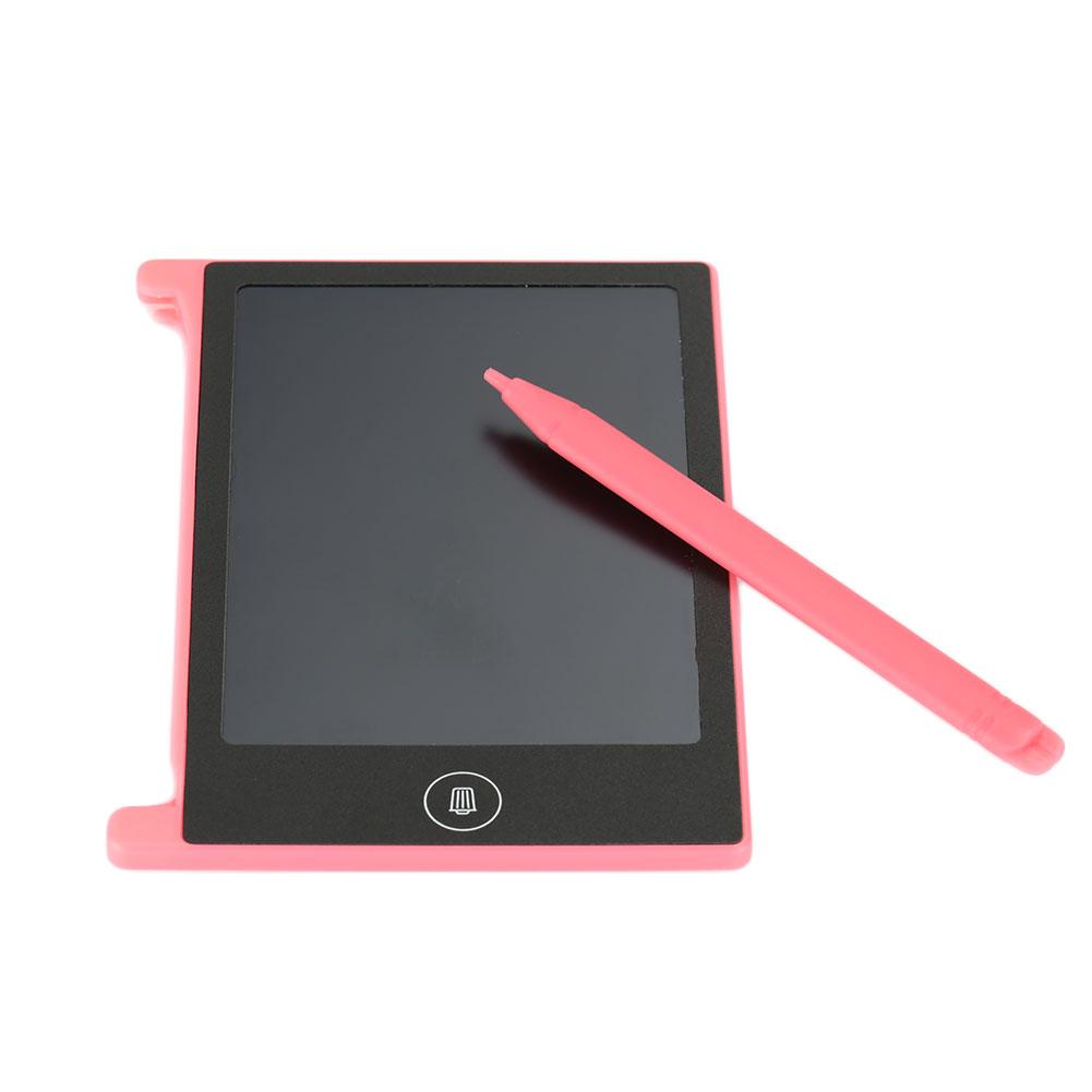 Drawing Notepad Painting Tablet Non-Toxic Red + Black LCD Display Picture Draw