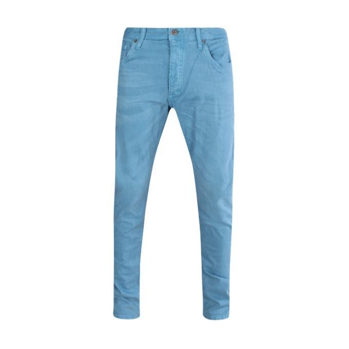 Sky Blue Denim Jeans Pant For Men
