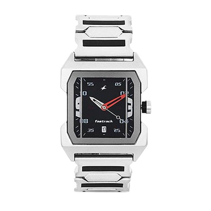1474SM02 - Stainless Steel Analog Watch For Men - Silver