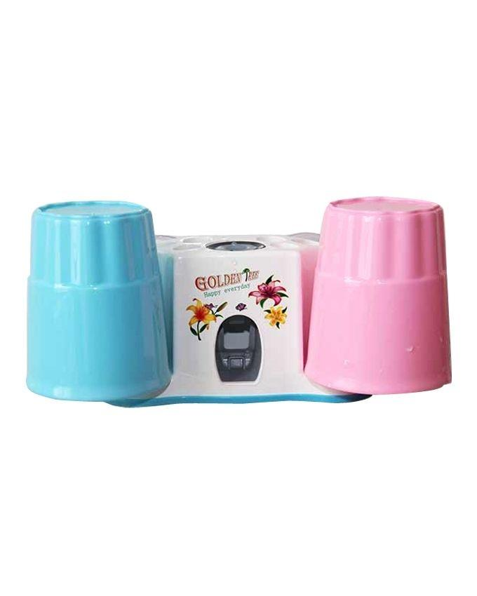 Vacuum Automatic Toothpaste Dispenser - Multicolor