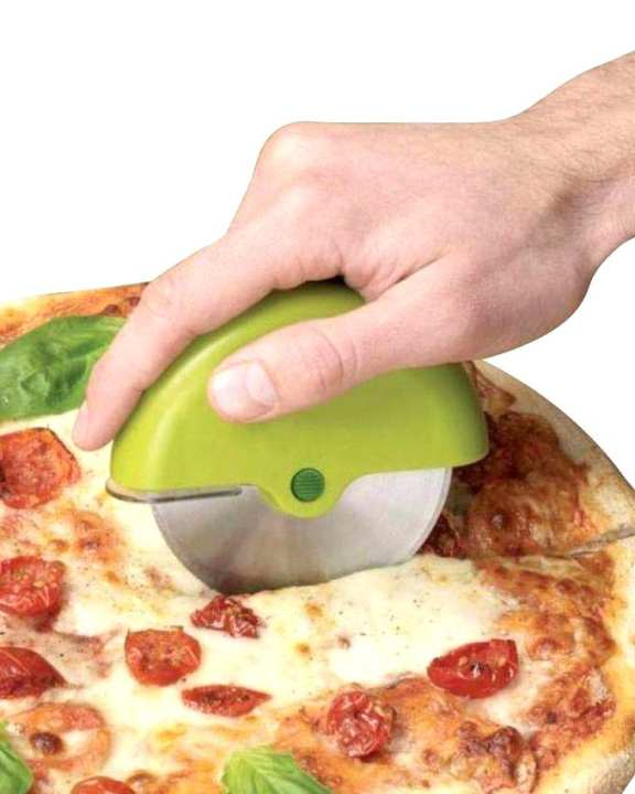 Pizza And Cake Cutter - Green