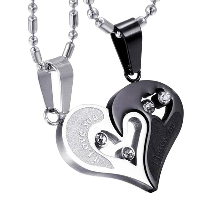I Love You Pendant for Couple