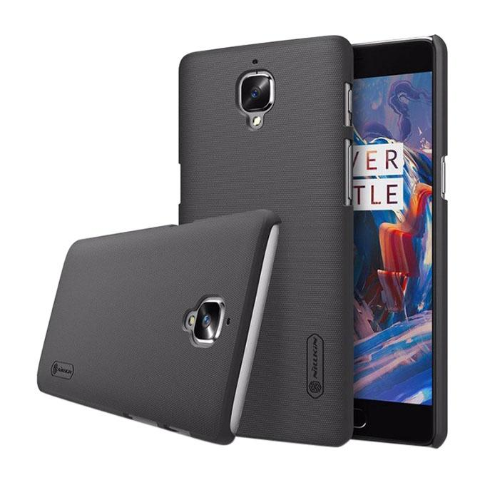 Super Frosted Shield Back Cover for OnePlus 3(A3000)/3T - Black