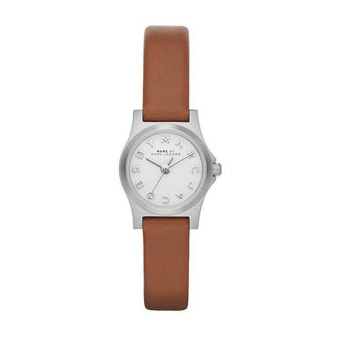 Leather MBM1280 Analogue Watch For Women - Brown