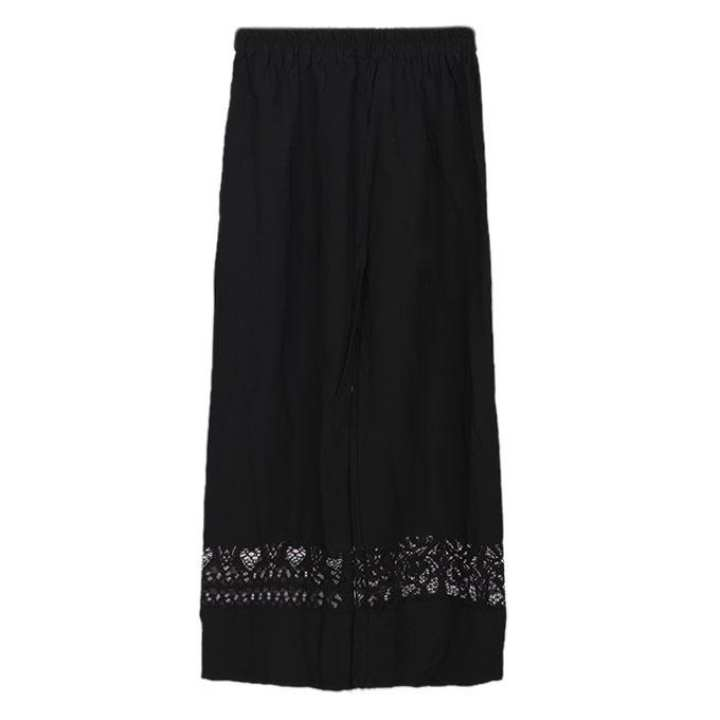 Black Cotton Palazzo For Girls