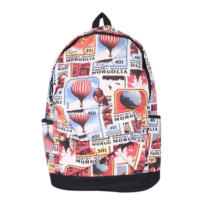 Multi Color Polyester Backpack For Women