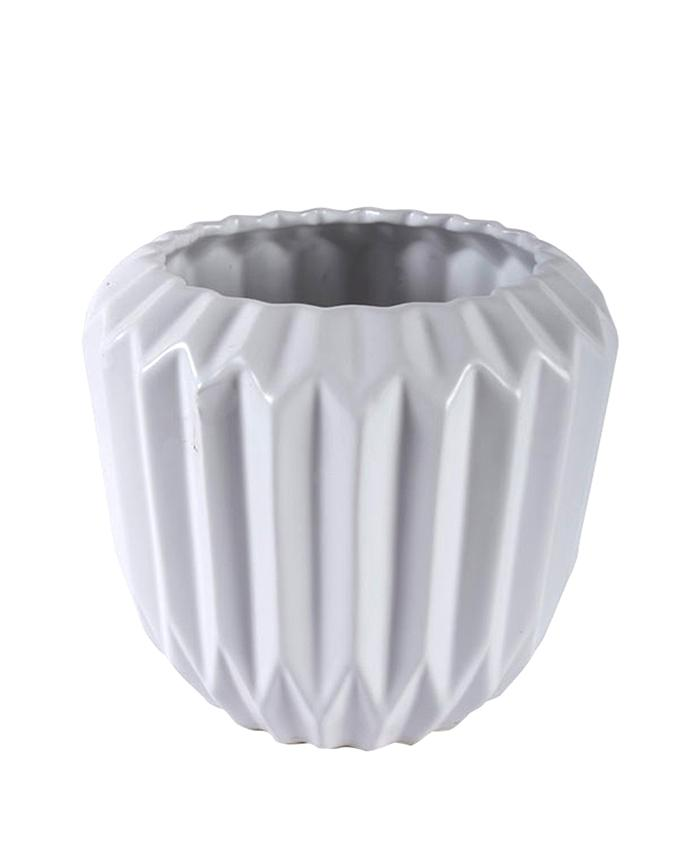 Ceramic Vase - White