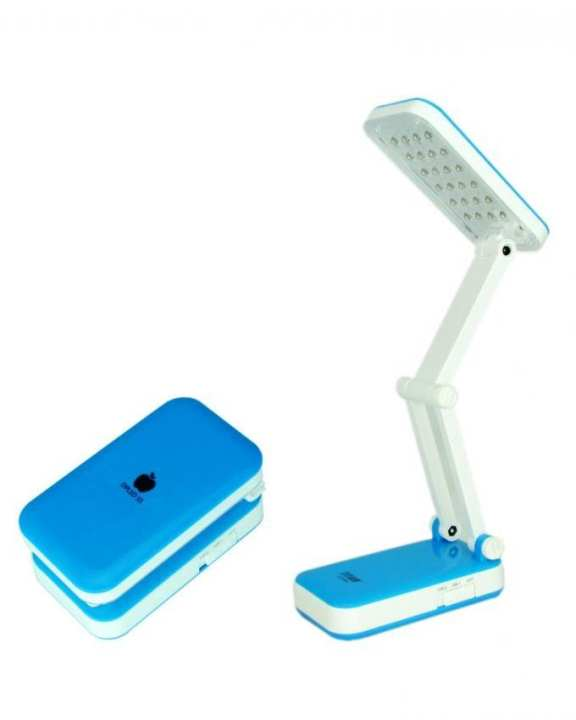 YAGE Rechargeable LED Folding Table Lamp - White & Blue
