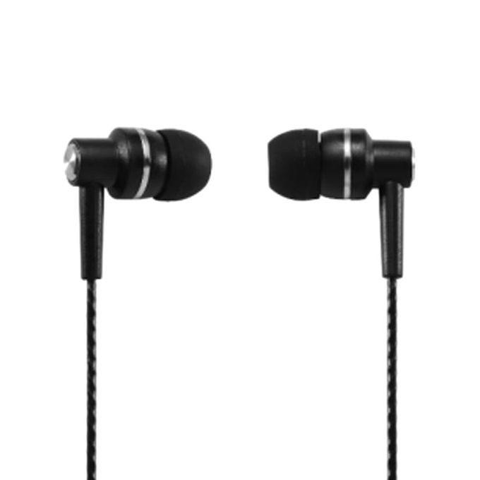 M7 Wire In-Ear Earphone - Black