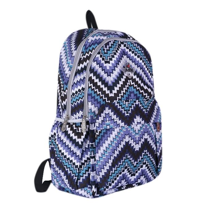 Polyester Backpack - Blue
