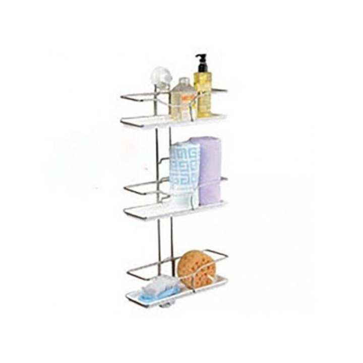 Stainless Steel Suction Tails Shelf - Silver