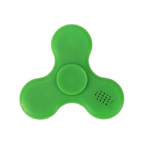 LED Light Bluetooth Fidget Spinner with Micro SD Slot