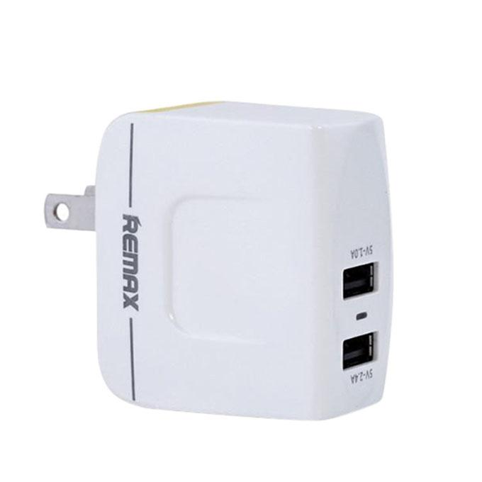 Mini USB Charger Adapter - White