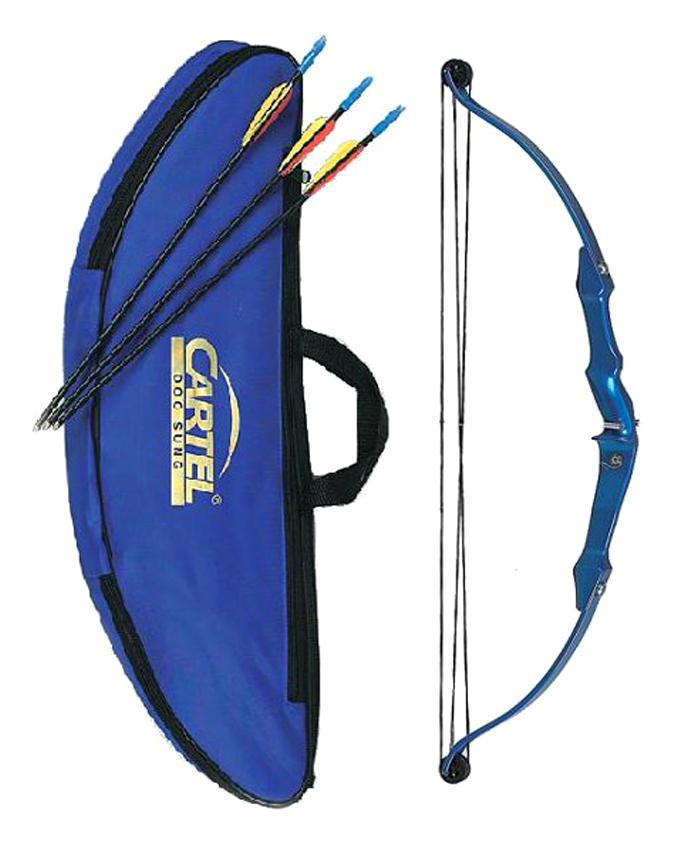 Mini Compound Bow Set - Blue
