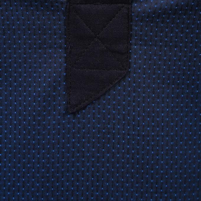 Navy Blue Cotton Panjabi For Men