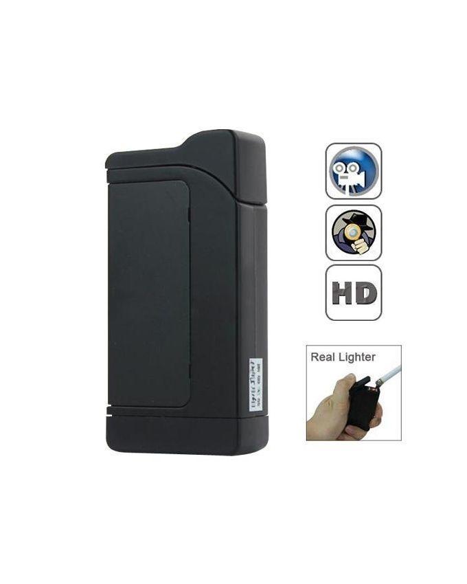 Spy Video Camera With Lighter 1080P - Black