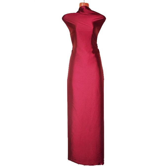 Magenta Chinese Shamu Silk Unstitched Fabric