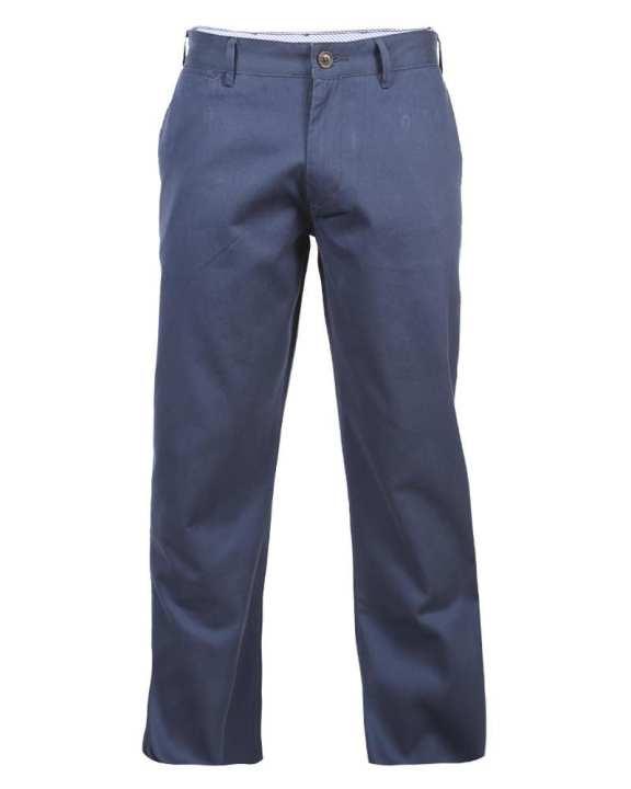 Cotton Twill Gabardine Pant - Navy