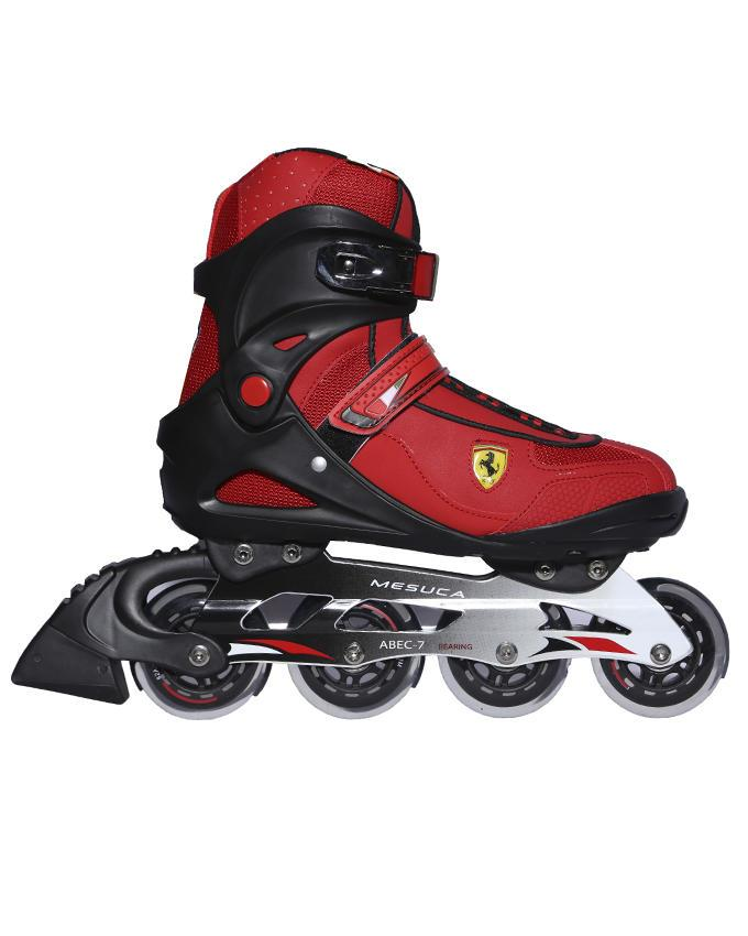 Inline Skater - Red and Black