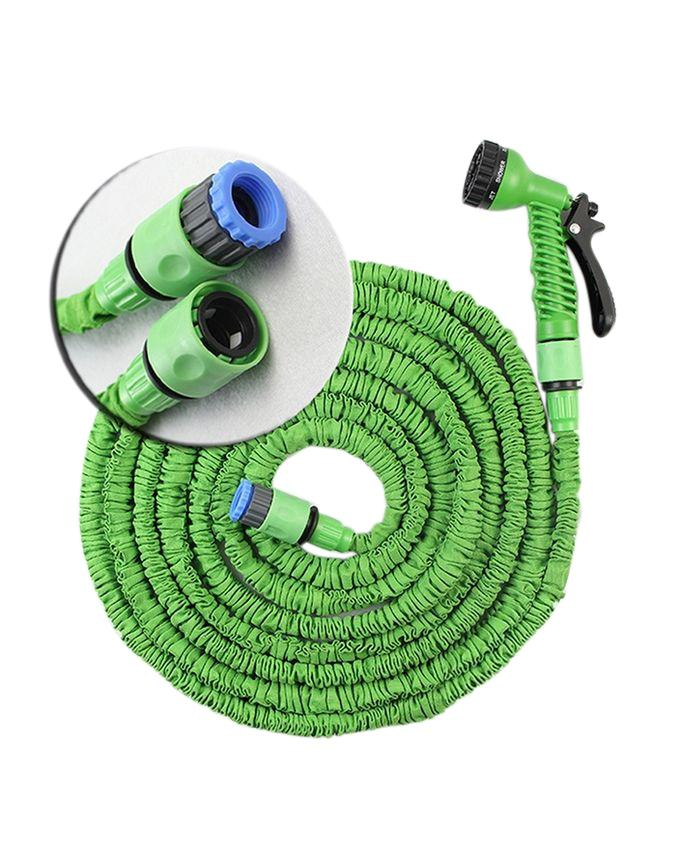Magic Hose Pipe For Watering (100ft) - Green