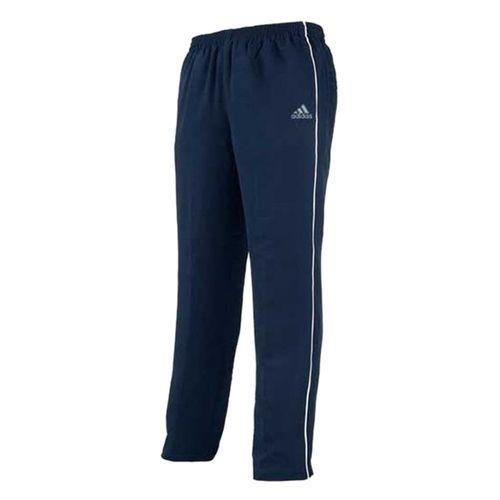 Navy Blue Polyester Trousers For Men
