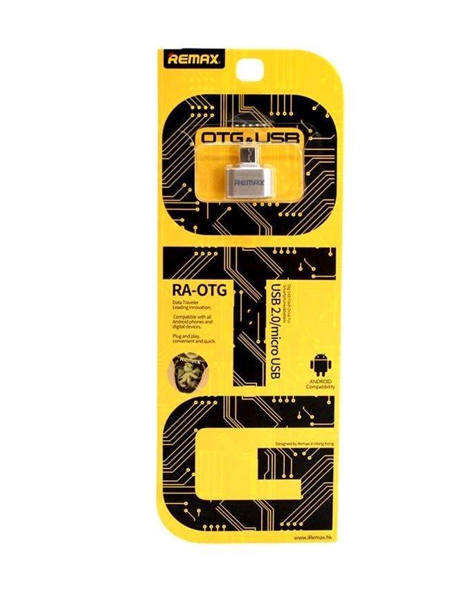 RA-OTG USB Micro USB OTG Plug - Gold