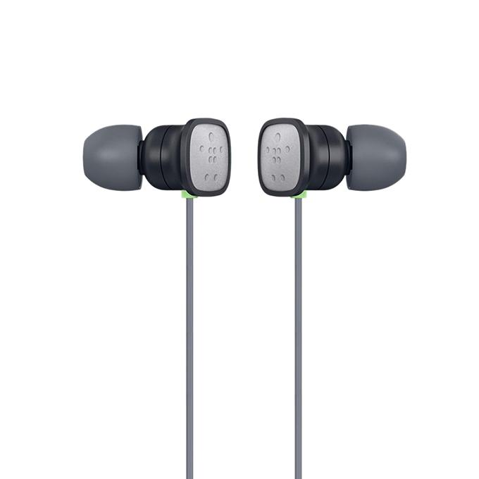 PureAV 006 Black Earbuds / Headphones with Microphone and Extra Bass