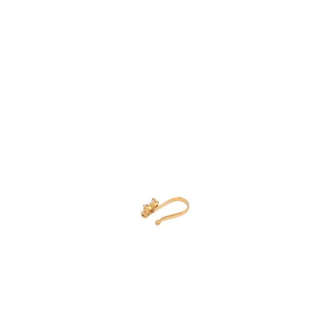 Gold Mou Nosepin 4 Stone
