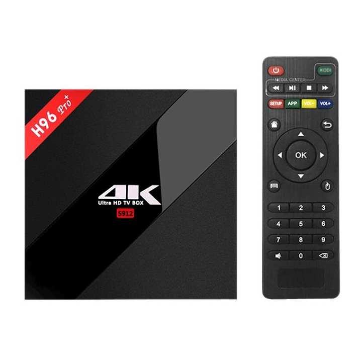 H96 Pro Plus Smart TV Box - Black