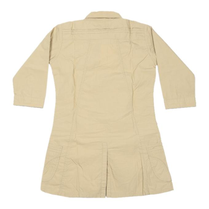 Navajo Cotton Casual Tops For Girls - Beige
