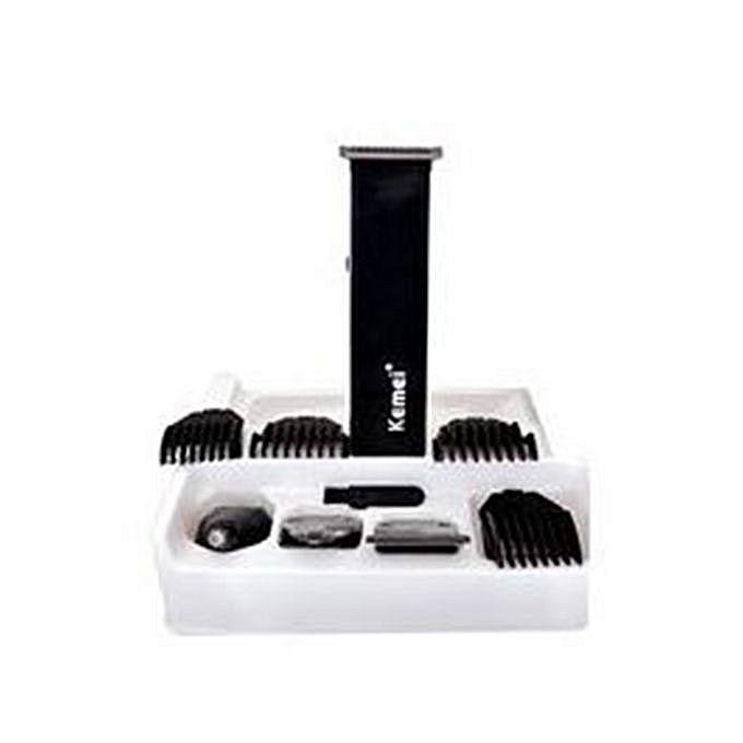 KM-3580 (4-In-1) Grooming Trimmer/Clipper Set - Black