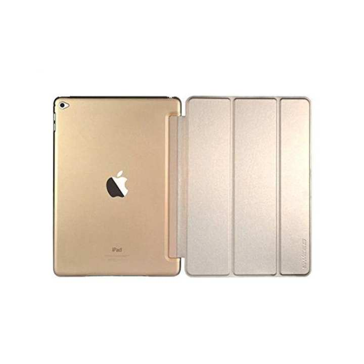 Smart Leather Case Flip Cover for ipad 2/3/4 - Gold