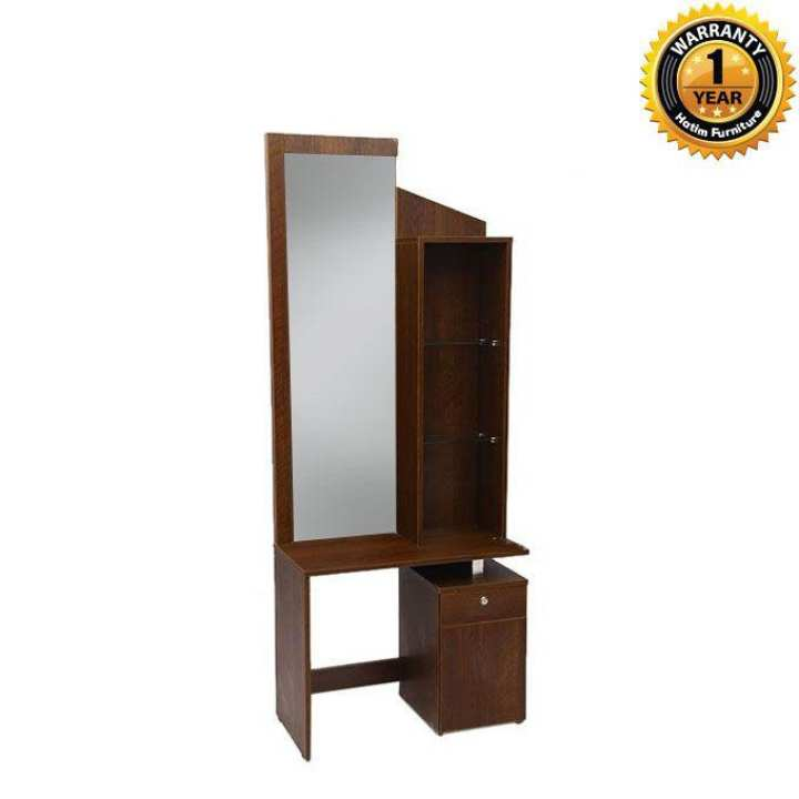 HDTH-104-3-10 Laminated Board Dressing Table - Brown