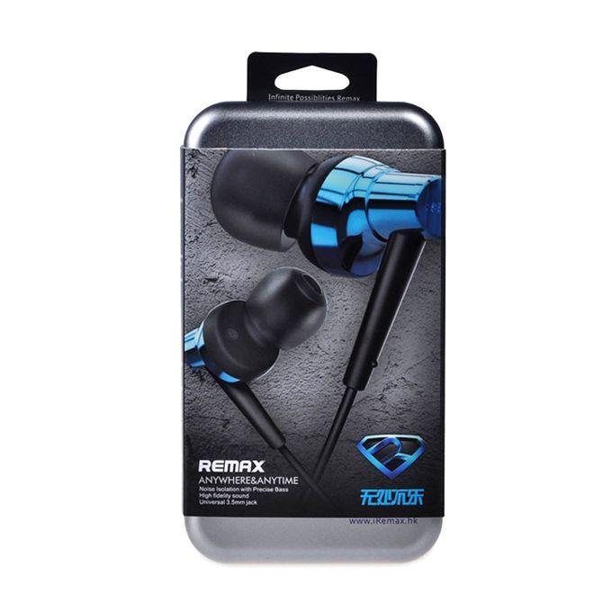 RM-575 In-Ear Earphone - Black and Blue