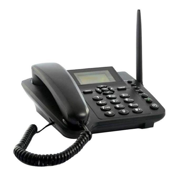 Dual SIM GSM Wireless Telephone - Black