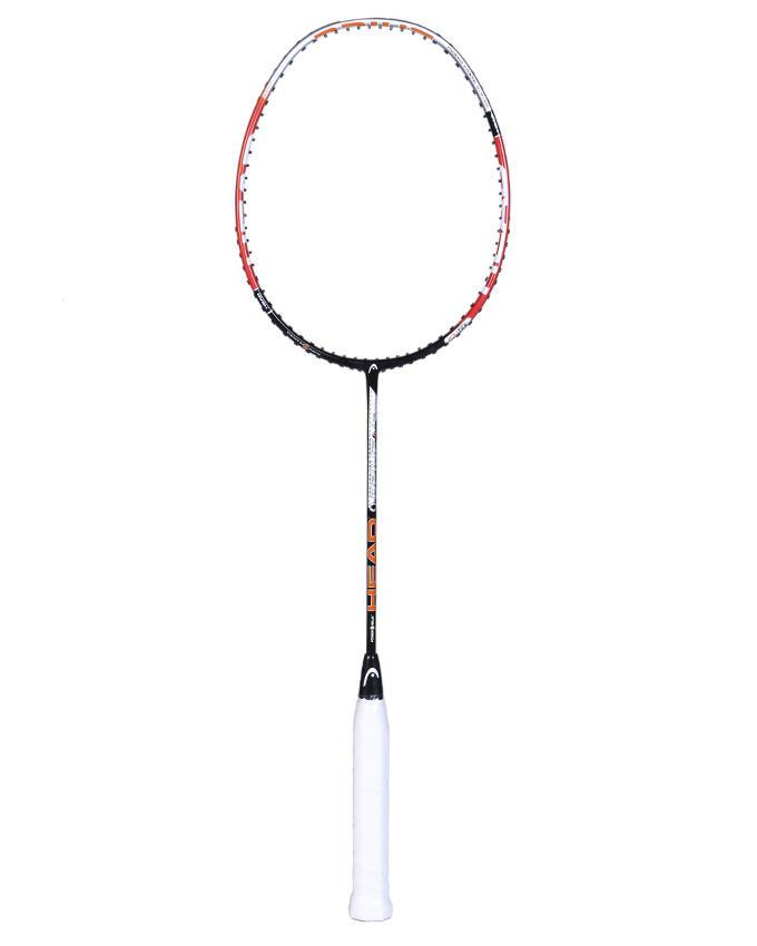 Drive Badminton Racket – Orange and White