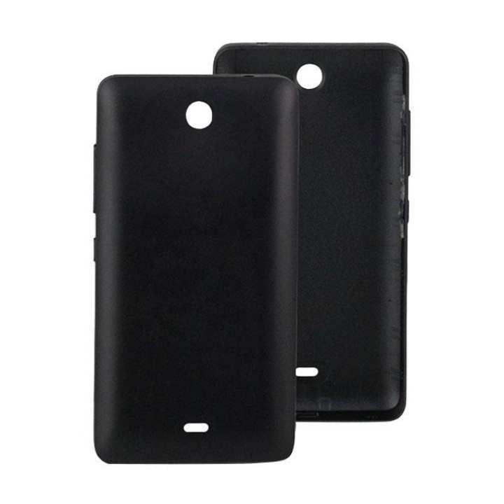 Back Shell Case Cover for Nokia Microsoft Lumia 430 - Black