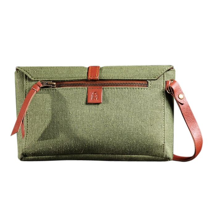Maria (Pickle Green Hand Purse For Women)