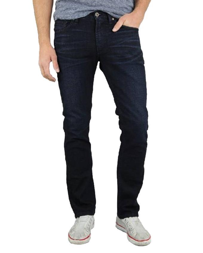 Dark Navy Blue Denim Casual Jeans For Men