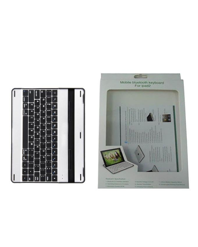 Wireless Bluetooth Keyboard for iPad - White and Black