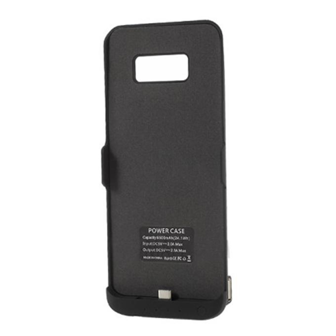 58d412fae 6500mAh External Battery Charger Case for Samsung Galaxy S8 Plus - Black