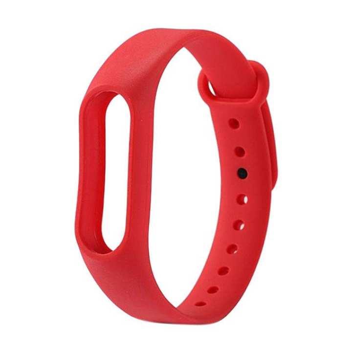 Mi Band 2 Silicone Wrist Strap - Red