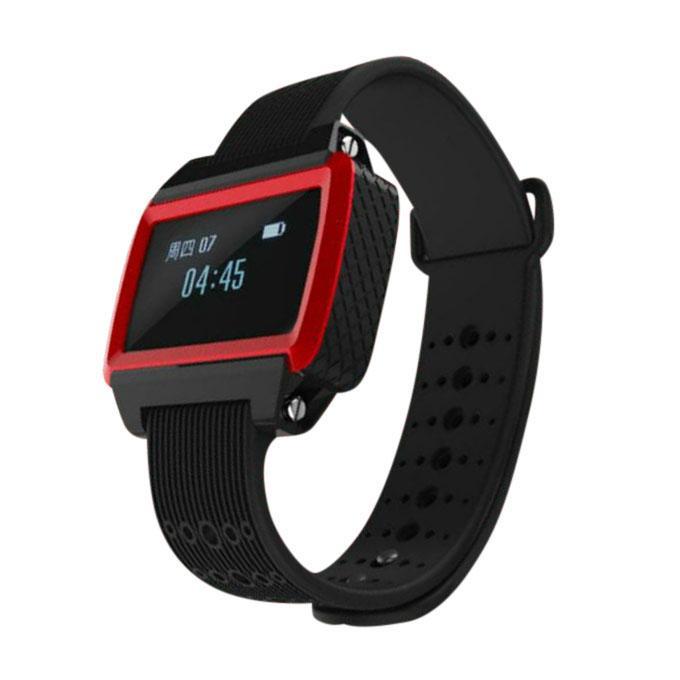 RBW-W2 Smart Sports Bracelet - Red