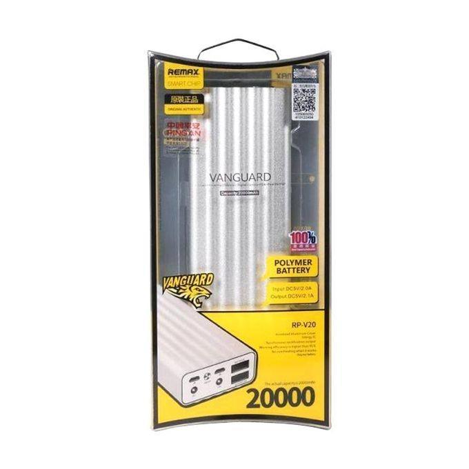 Vanguard Series  Power Bank 20000mAh - Silver