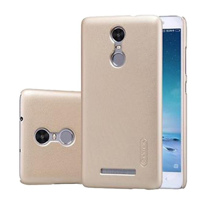 Super Frosted Shield Back Cover for Xiaomi RedMi Note 3 - Golden