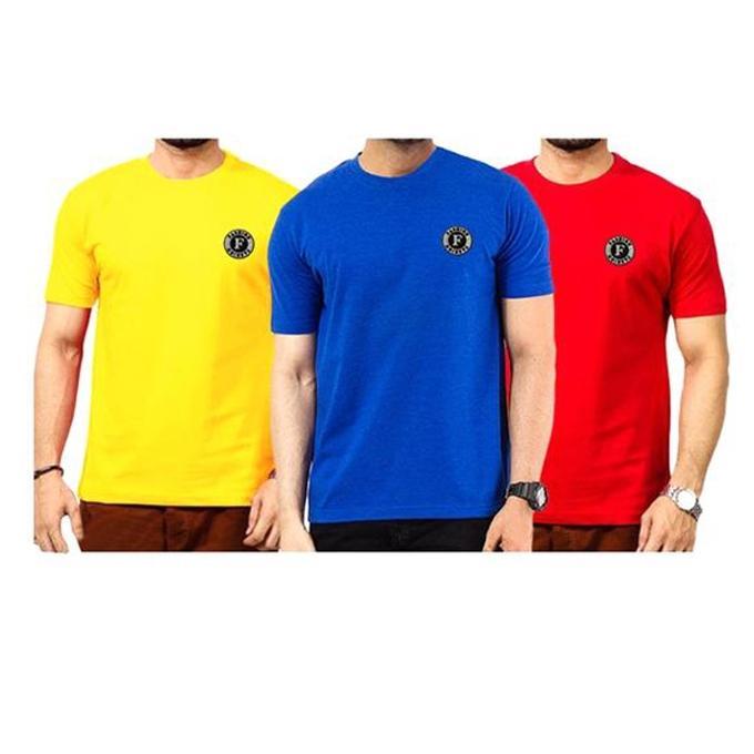 Combo Pack of 3 T-shirt For Men